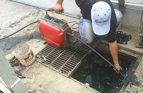 Dịch vụ thông cống giá rẻ tại quận Hồng Bàng
