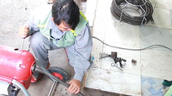 Dịch vụ thông cống tại quận Hồng Bàng