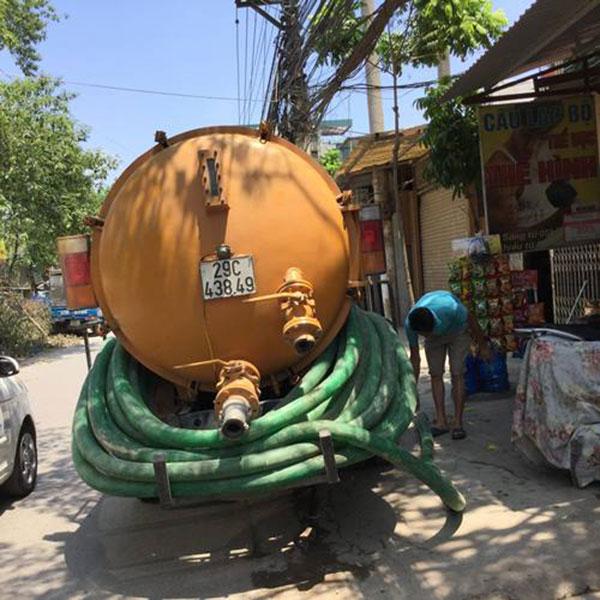 Thông cống giá rẻ tại huyện An Dương