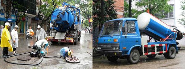 Dịch vụ thông cống giá rẻ tại quận Lê Chân