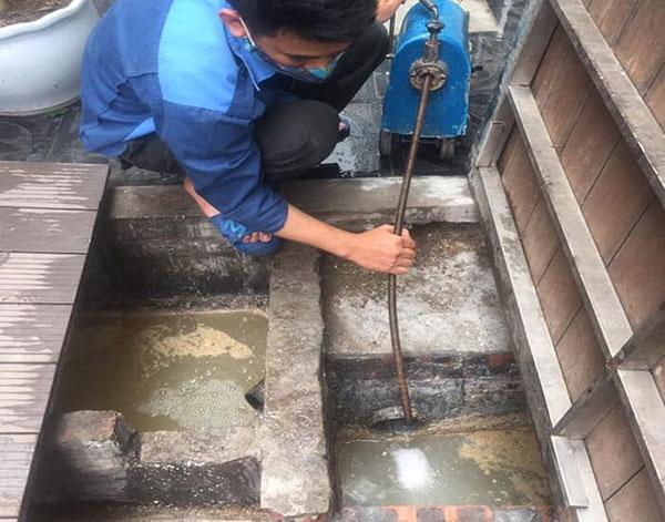 Thông cống tại quận Dương Kinh
