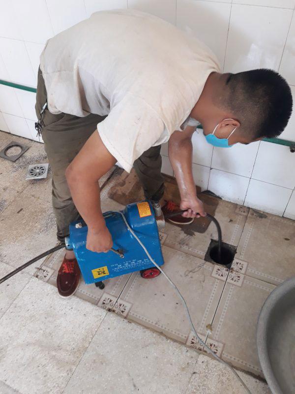 Thông cống giá rẻ tại huyện Kiến Thụy