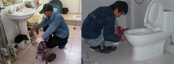 Thông cống nhà vệ sinh tại Hải Phòng