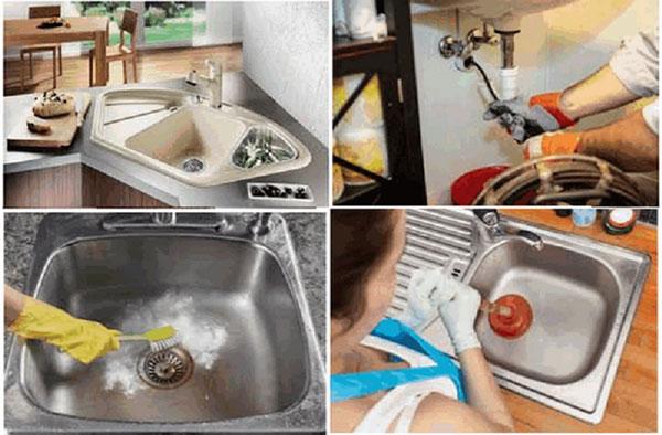 Những thứ không nên cho vào bồn rửa bát gây tắc nghẽn