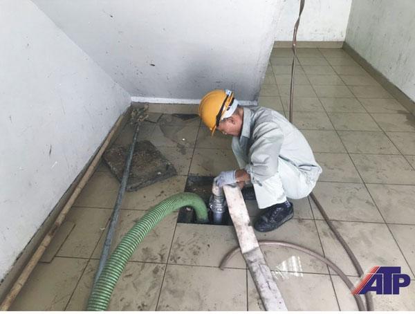 Dịch vụ thông cống tại khu công nghiệp Vship Hải Phòng