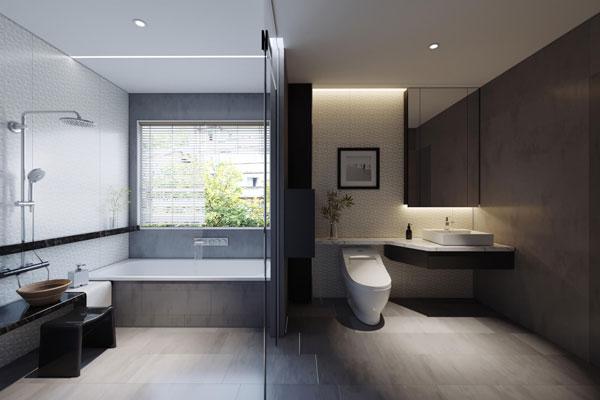 Nên xây nhà vệ sinh tách biệt với phòng tắm không