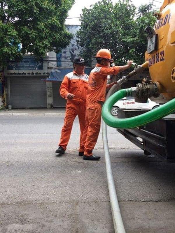 Dịc vụ hút bể phốt tại Thái Bình