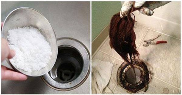 Cách xử lý cống bị tắc do tóc hiệu quả nhất